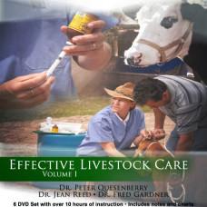 Effective Livestock Care Vol. I - Dr. Peter Quesenberry, Dr. Jean Reed, and Dr. Fred Gardner
